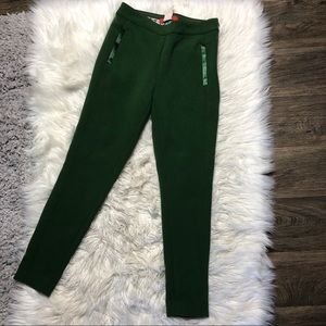 Anthropologie cartonnier slim green pants